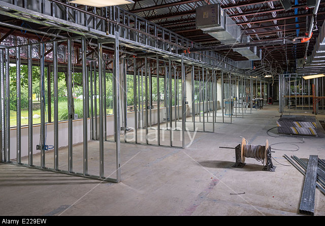 New Construction Commercial Real Estate Interior Revo Industries Inc